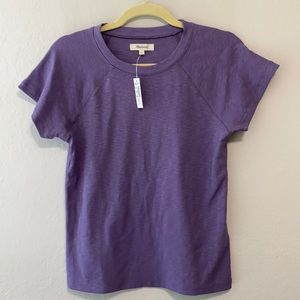 Madewell Westville Raglan Sleeve Tee Shirt